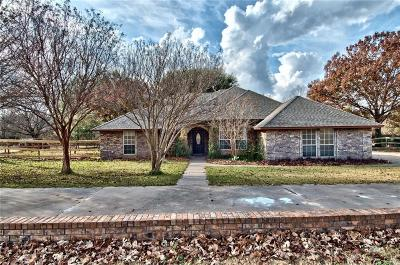 Aledo Single Family Home Active Option Contract: 125 Lakeview Drive