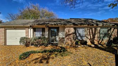 Arlington Single Family Home Active Option Contract: 3807 Glengate Drive
