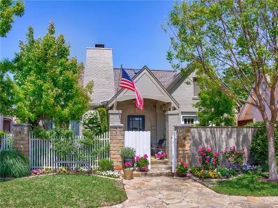 Fort Worth Single Family Home For Sale: 4828 Bryce Avenue