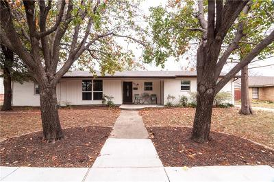 Farmers Branch Single Family Home Active Option Contract: 3510 Cloverdale Lane