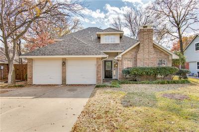 Grapevine Single Family Home Active Option Contract: 1903 Saddle Ridge Drive