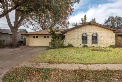 Arlington Single Family Home Active Option Contract: 703 Cavendish Drive