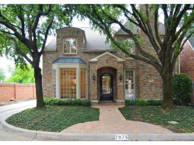 Dallas Single Family Home For Sale: 7975 Caruth Court