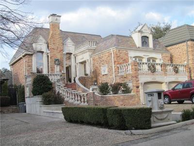 Dallas Single Family Home For Sale: 17183 Club Hill Drive