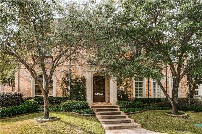 Dallas Single Family Home For Sale: 7018 Stone Meadow Drive