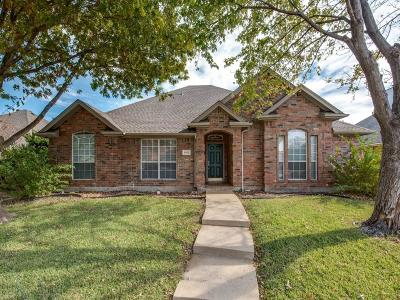 Frisco Single Family Home Active Option Contract: 5512 Hill Haven Court