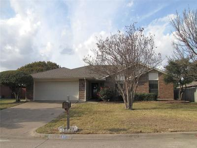 Trophy Club Single Family Home Active Option Contract: 18 Cimarron Drive