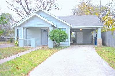 Dallas Single Family Home For Sale: 2301 Marburg Street
