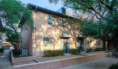 Dallas Condo For Sale: 6009 E University Boulevard #131