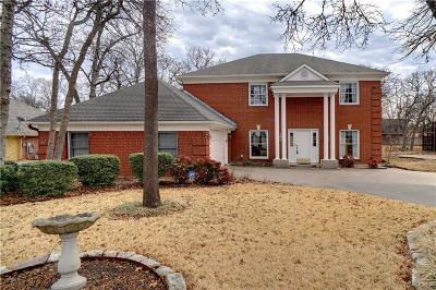 Azle Single Family Home For Sale: 1612 Anchor Way