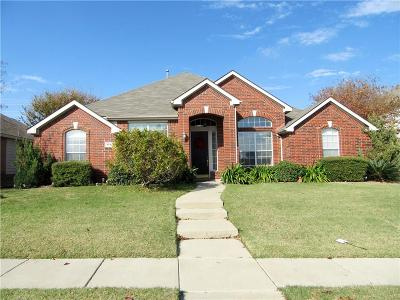 Plano Single Family Home Active Option Contract: 3549 Estacado Lane