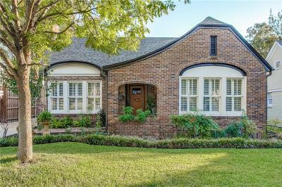 Dallas Single Family Home For Sale: 5634 Ridgedale Avenue