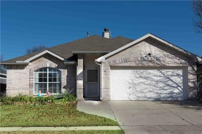 Saginaw Single Family Home Active Option Contract: 612 Babbling Brook Drive