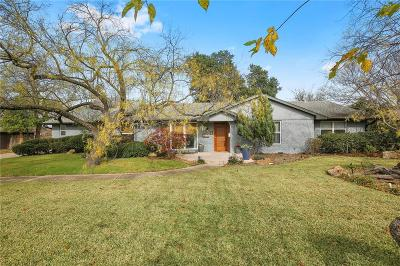 Dallas Single Family Home For Sale: 3715 Whitehall Drive