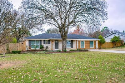 Colleyville Single Family Home For Sale: 1309 Tinker Road