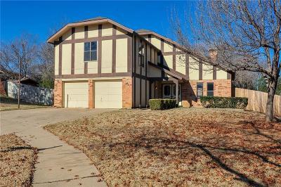 Arlington Single Family Home Active Option Contract: 3617 Montridge Court