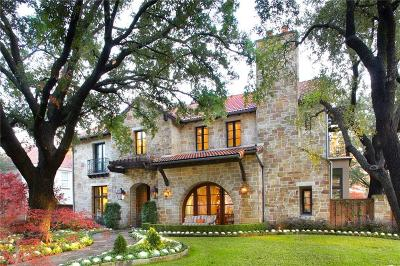 Dallas County Single Family Home For Sale: 4343 Beverly Drive