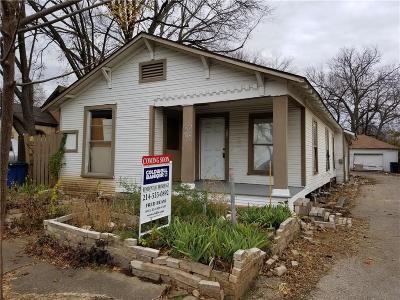 Dallas Multi Family Home Active Option Contract: 512 Graham Avenue