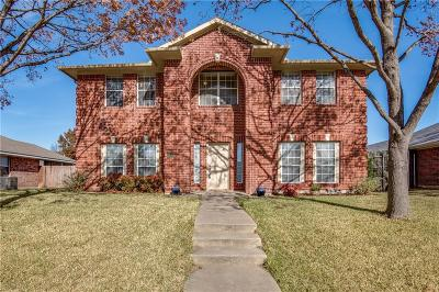 Allen Single Family Home For Sale: 1013 Edison Lane