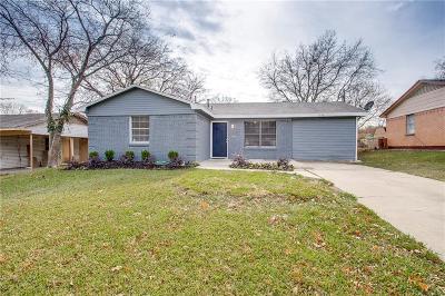 Mesquite Single Family Home For Sale: 1808 Del Oak Drive