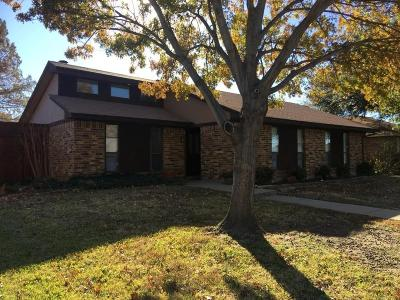 Lewisville Single Family Home Active Contingent: 1326 Starling Lane