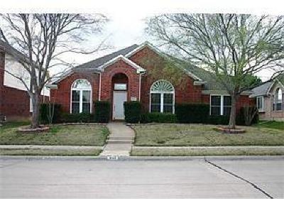 Lewisville Single Family Home For Sale: 440 Ridge Meade Drive