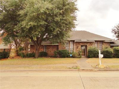 Carrollton Single Family Home Active Option Contract: 1107 Wiltshire Drive