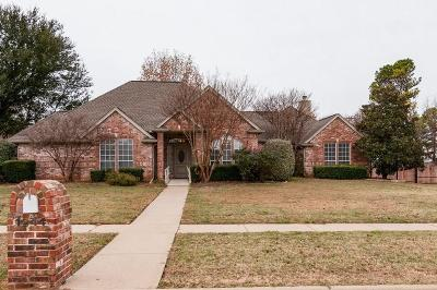Keller Single Family Home Active Option Contract: 1244 Trail Ridge Drive