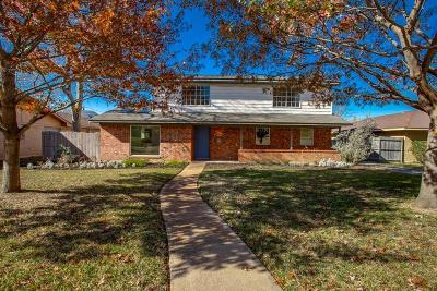 Dallas Single Family Home Active Option Contract: 9235 Markanne Drive