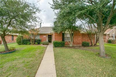 Allen Single Family Home Active Option Contract: 610 Bluebonnet Drive