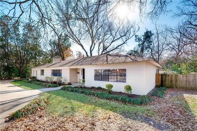 Garland Single Family Home For Sale: 1124 Briarwood Drive