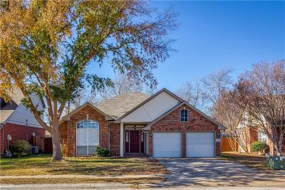 Lewisville Single Family Home For Sale: 2034 Frontier Trail