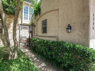 Dallas Townhouse For Sale: 4346 Cochran Chapel Circle