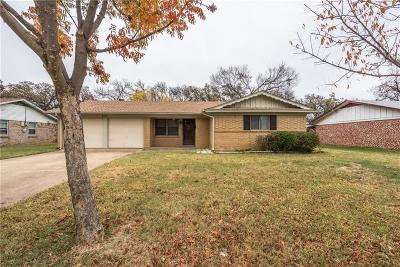Euless Single Family Home Active Option Contract: 513 Henslee Drive
