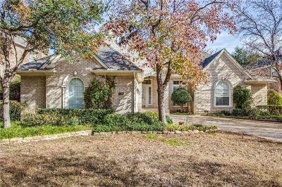 Irving Single Family Home For Sale: 7500 Bradford Pear Drive