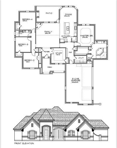 Springtown Single Family Home For Sale: 1028 Jesse James