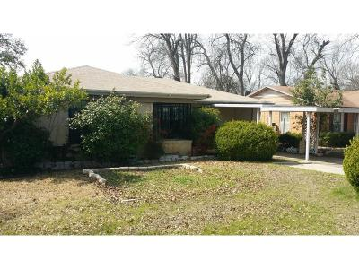 Dallas Single Family Home For Sale: 4521 Malden Lane