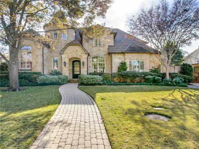 Dallas Single Family Home For Sale: 6606 Brookshire Drive