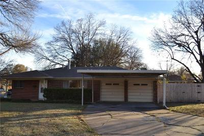 Benbrook Single Family Home Active Option Contract: 201 Mildred Lane