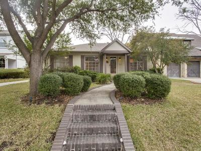 Single Family Home For Sale: 6286 McCommas Boulevard