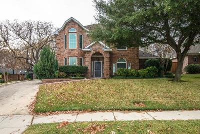 Grapevine Single Family Home For Sale: 2632 Wickersham Court