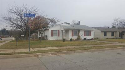Arlington Single Family Home For Sale: 1622 Dale Drive