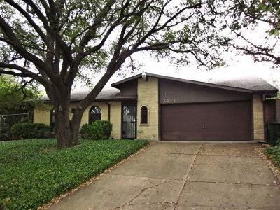 Plano Single Family Home Active Option Contract: 3481 Chelsea Lane