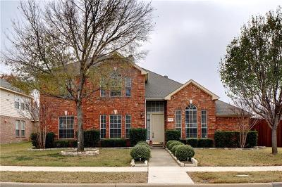 Plano Single Family Home Active Option Contract: 3728 Aransas Drive