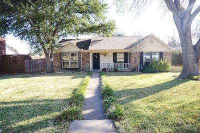 Coppell Single Family Home Active Option Contract: 240 Aspenway Drive