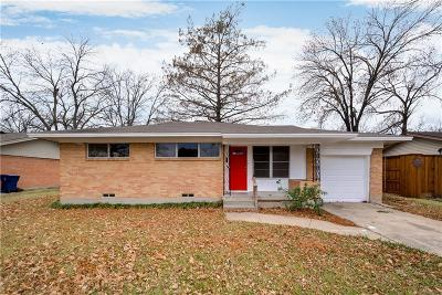 Garland Single Family Home Active Option Contract: 2941 Old Orchard Road