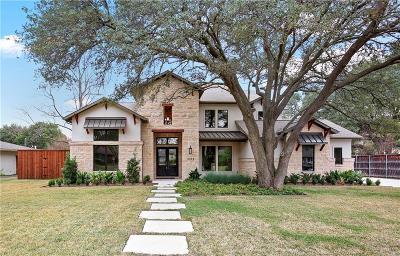 Dallas Single Family Home For Sale: 5522 Meletio Lane