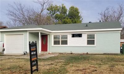 Arlington Single Family Home For Sale: 1609 Daniel Drive