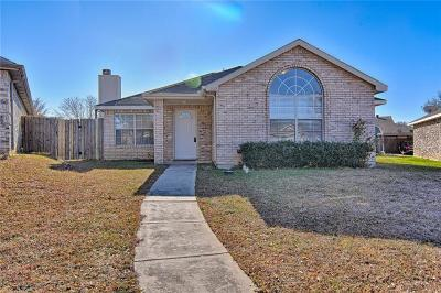 Arlington Single Family Home Active Option Contract: 1102 Falconcrest Court
