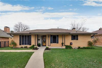 Dallas Single Family Home For Sale: 5115 Menefee Drive